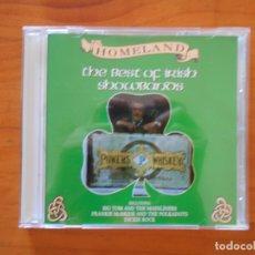 CDs de Música: CD HOMELAND - THE BEST OF IRISH SHOWBANDS (7U). Lote 176332035