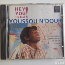 CDs de Música: YOUSSOU N´DOUR THE BEST OF - THE LION - HEY YOU! RARO. Lote 176332834