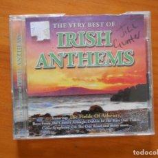 CDs de Música: CD THE VERY BEST OF IRISH ANTHEMS (8G). Lote 176335568