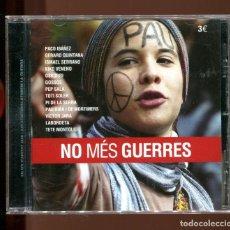 CD de Música: NO MÉS GUERRES. PAU RIBA . OSKORRI ETC. CD NUEVO. RARO. Lote 176337902