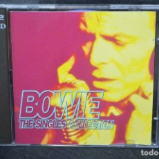 CDs de Música: DAVID BOWIE - THE SINGLES COLLECTION - 2 CD. Lote 176338549