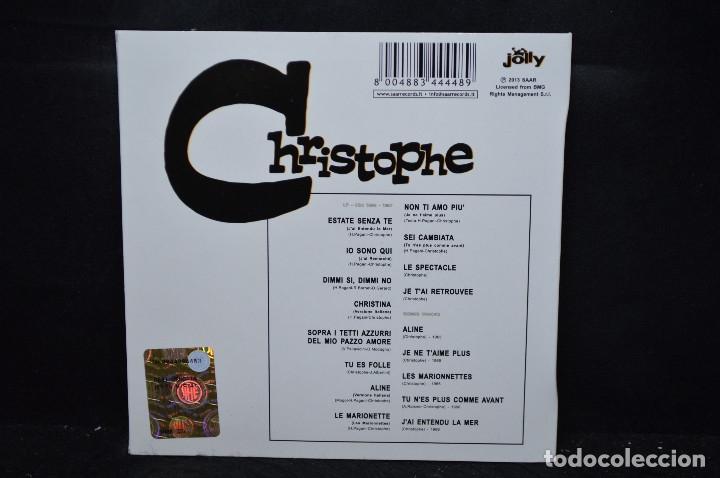 CDs de Música: CHRISTOPHE - CHRISTOPHE - CD - Foto 2 - 176340007