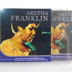 CDs de Música: CD ARETHA FRANKLIN - CANTANTES INTERNACIONALES - RESPECT, AIN'T NO WAY - GRANDES ÉXITOS PRECINTADO. Lote 176344839
