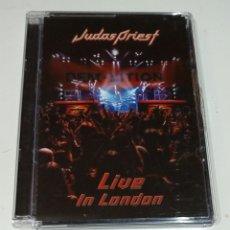 CDs de Música: JUDAS PRIEST / DVD / LIVE IN LONDON. Lote 176346845