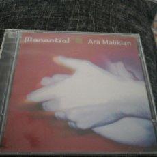 CDs de Música: ARA MALIKIAN / CD PRECINTADO / MANANTIAL. Lote 176358780