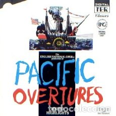 CDs de Música: PACIFIC OVERTURES (LONDON CAST) (HIGHLIGHTS) MÚSICA COMPUESTA Y LETRA POR STEPHEN SONDHEIM. Lote 176358995