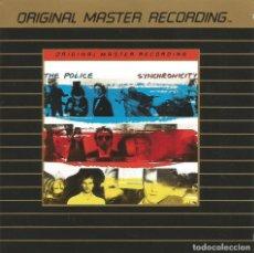 CDs de Música: THE POLICE-SYNCHRONICITY ULTRADISC BAÑADO ORO 24K. Lote 176372960