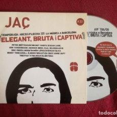 CDs de Música: JAÇ 22 - ARCO & FLECHA - ELEGANT BRUTA I CAPTIVA - BROTZMANN FRIEDLANDER STEPHAN OLIVA JAMIE SAFT . Lote 176377315