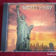CDs de Música: MESHUGGAH - CONTRADICTIONS COLLAPSE - NUCLEAR BLAST RECORDS. Lote 176380120