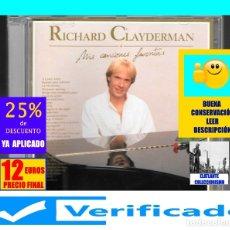 CDs de Música: MIS CANCIONES FAVORITAS - RICHARD CLAYDERMAN - 2 CDS - BALADA PARA ALEDINA SUMMERTIME LET IT BE. Lote 176385858