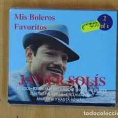 CDs de Música: JAVIER SOLIS - MIS BOLEROS FAVORITOS - CD. Lote 176400932