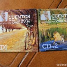 CDs de Música: LOTE DE 2 CDS CUENTOS PARA INSPIRARTE ,CD 1 Y 2. Lote 176411298