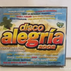 CDs de Música: DISCO ALEGRIA 2002 - MARCOS LLUNAS, RAUL...... 4 X CD - 2002 - SPAIN - EX+/EX+. Lote 176433910