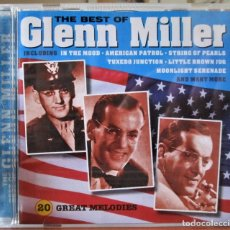 CDs de Música: THE BEST OF GLENN MILLER - 20 GREAT MELODIES - CD. Lote 176436475