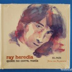 CDs de Música: CD LIBRO / RAY HEREDIA / QUIEN NO CORRE, VUELA / EL PAÍS - JOYAS DEL FLAMENCO / NUEVO. Lote 176446988