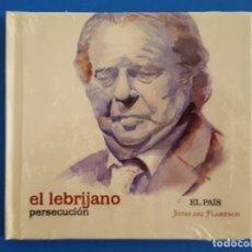 CDs de Música: CD LIBRO / EL LEBRIJANO / PERSECUCIÓN / EL PAÍS - JOYAS DEL FLAMENCO / NUEVO. Lote 176447299