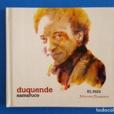 CDs de Música: CD LIBRO / DUQUENDE / SAMARUCO / EL PAÍS - JOYAS DEL FLAMENCO / NUEVO. Lote 176447558