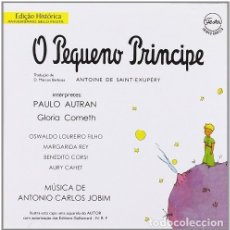 CDs de Música: ANTONIO CARLOS JOBIM ?– O PEQUENO PRINCIPE - OFERTA 3X2 - NUEVO Y PRECINTADO. Lote 210197250