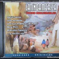 CDs de Música: LATINOAMÉRICA - VOCES INOLVIDABLES - DANIEL SANTOS, JULIO CARAMILLO, EL PUMA, BENY MORÉ, ATAHUALPA . Lote 176476084