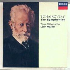 CDs de Música: TCHAIKOVSKY THE SYMPHONIES 4 CD BOX LONDON LORIN MAAZEL DECCA RECORDS. Lote 176482702