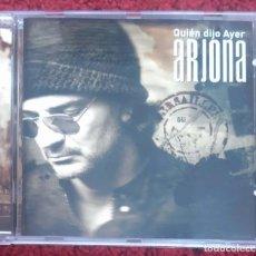 CDs de Música: RICARDO ARJONA (QUIEN DIJO AYER) CD 2009 - MARTA SANCHEZ, EROS RAMAZZOTTI, MARC ANTHONY. Lote 176483935