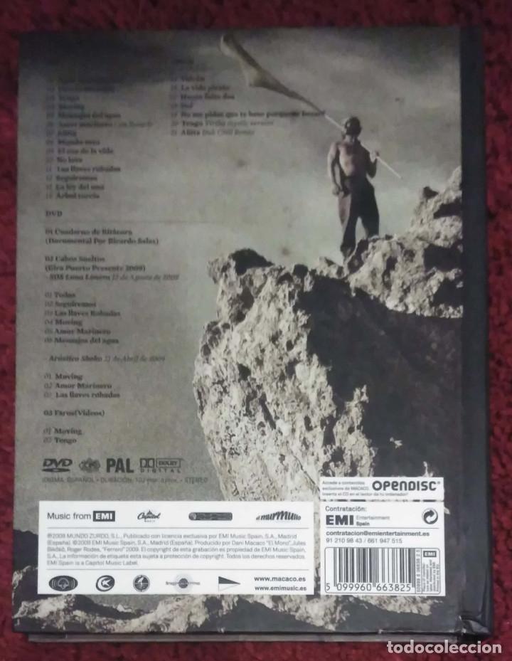 CDs de Música: MACACO (PUERTO PRESENTE) CD + DVD 2009 * Descatalogado - Foto 2 - 176492810
