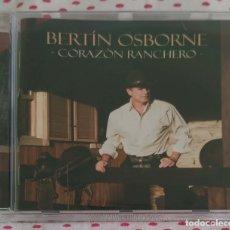 CDs de Música: BERTIN OSBORNE (CORAZON RANCHERO) CD 2013 - AGUSTIN LARA, JUAN GABRIEL, ARMANDO MANZANERO.... Lote 176493394