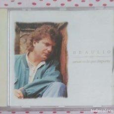 CDs de Música: BRAULIO (AMAR ES LO QUE IMPORTA) CD 1996. Lote 176493615