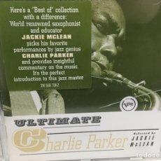 CDs de Música: CHARLIE PARKER - ULTIMATE CHARLIE PARKER (CD, COMP). Lote 176504839
