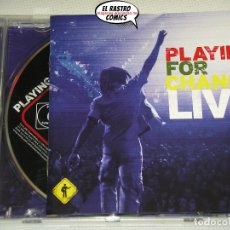 CDs de Música: PLAYING FOR CHANGE, LIVE, DVD, CD. Lote 176506622