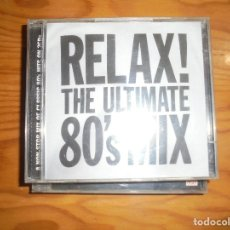 CDs de Música: RELAX ¡¡ THE ULTIMATE 80´S MIX. UNIVERSAL 2001. 2 CD´S. Lote 176507159