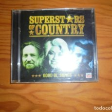 CDs de Música: SUPERSTARS OF COUNTRY. GOOD OL´SONGS. TIME LIFE, 2005. 2 CD´S. IMPECABLE. Lote 176507565