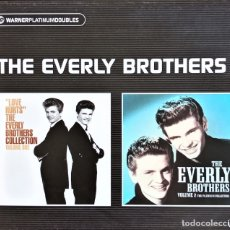 CDs de Música: THE EVERLY BROTHERS - PLATINUM COLLECTION - 2 CDS. Lote 176508563