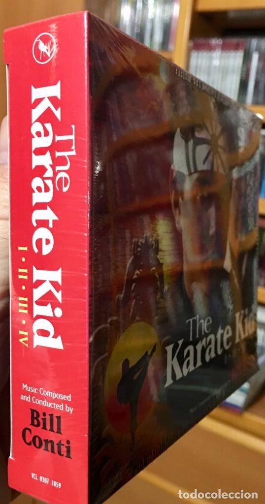 CDs de Música: KARATE KID I-II-III-IV - Musica de BILL CONTI - VARESE CD CLUB - BSO Caja 4 cd´s LIMITADA Precintado - Foto 3 - 176508742