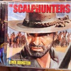 CDs de Música: THE SCALPHUNTERS - MUSICA DE ELMER BERNSTEIN - VARESE CD CLUB - BSO LIMITADO PRECINTADO. Lote 176509029