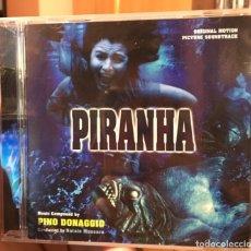 CDs de Música: PIRANHA - MUSICA DE PINO DONAGGIO - VARESE CD CLUB - BSO LIMITADO PRECINTADO. Lote 176509420