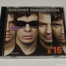 CDs de Música: RATONES PARANOICOS / ROCK ARGENTINO / CD / X16. Lote 176510982