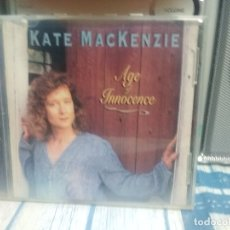 CDs de Música: KATE MACKENZIE - AGE OF INNOCENCE - CD. RED HOUSE RECORDS. AÑO 1996 PEPETO. Lote 176513323