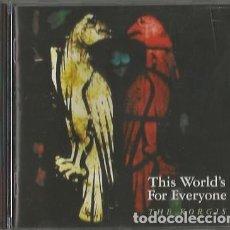 CDs de Música: THE KORGIS. THIS WORLD'S FOR EVERYONE. SANNY RECORDS. SPAIN 1992. Lote 176518090