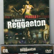 CDs de Música: EL DISCO DE REGGAETON - VARIOS (DOBLE CD, VALE MUSIC 2004). Lote 176530957