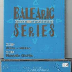 CDs de Música: BALEARIC SERIES - VARIOS (DOBLE CD, MORBIDO RECORDS 1998). Lote 176531057