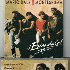 CDs de Música: MARIO DALY Y MONTESPUMA - ESCANDALO (CD, BESAMEMUCHO RECORDS 1994). Lote 176531380