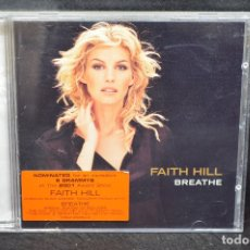 CDs de Música: FAITH HILL - BREATHE - CD. Lote 176551990
