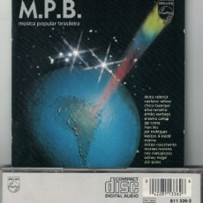 CDs de Música: MUSICA POPULAR BRASILEÑA - VARIOS (CD, PHILIPS 1983). Lote 176552462