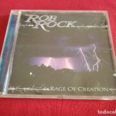 CDs de Música: ROB ROCK - RAGE OF CREATION - IMPELLITTERI. Lote 176552595