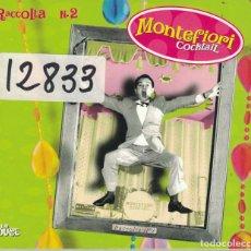 CDs de Música: MONTEFIORI COCKTAIL - RACCOLTA Nº 2 (CD DIGIPACK, IRMA RECORDS 2000). Lote 176554275