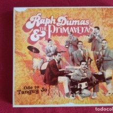 CDs de Música: RAPH DUMAS & THE PRIMAVERAS - ODE TO TANGUY JO - PASCAL COMELADE. Lote 176572694