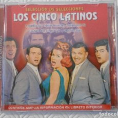 CDs de Música: LOS CINCO LATINOS. COMPACTO CON 15 CANCIONES. . Lote 176589750