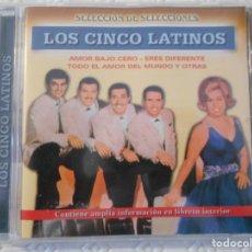 CDs de Música: LOS CINCO LATINOS. COMPACTO CON 15 CANCIONES. . Lote 176589845