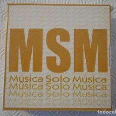 CDs de Música: MUSICA SOLO MUSICA. ESTUCHE CON 9 COMPACTOS CON LA MEJOR MUSICA INSTRUMENTAL. ESTUCHE DE CARTON. FAL. Lote 176590760